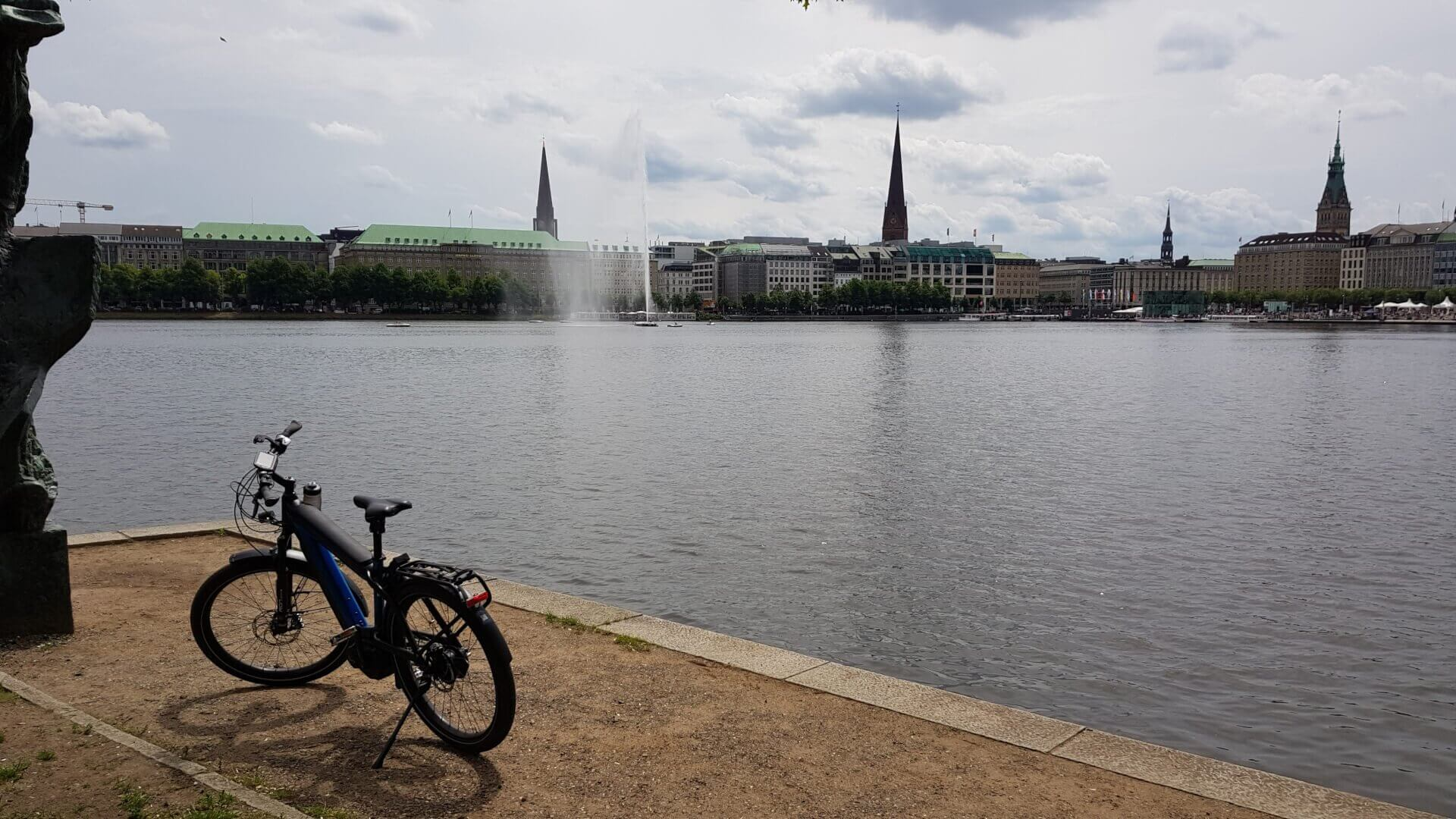 Hamburg meine Perle - E-Bike Tour durch Hamburg