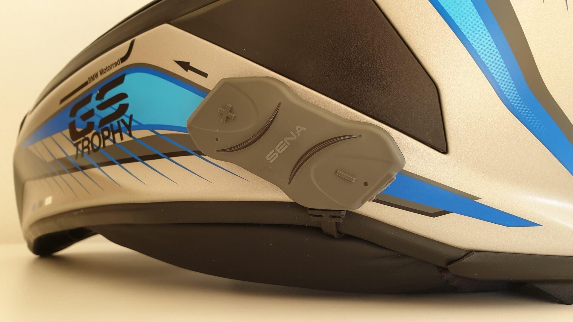 Sena 10R Headset an BMW GS Helm