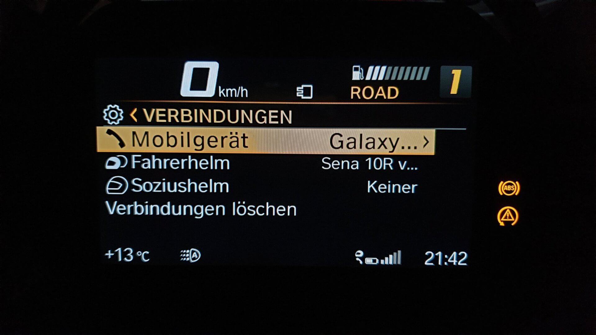 BMW TFT Display