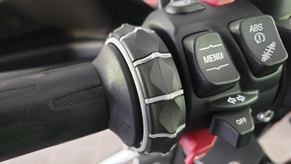 BMW Motorrad Drehrad