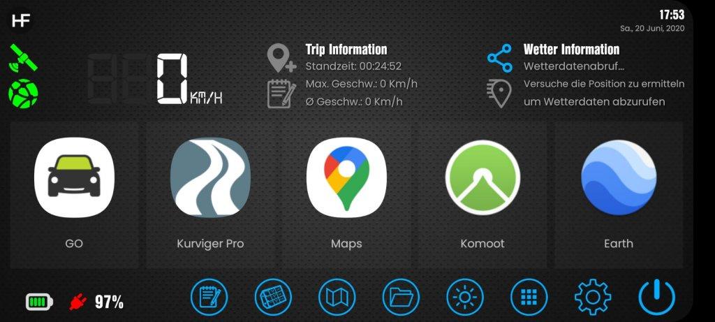 Drive Mode Dashboard