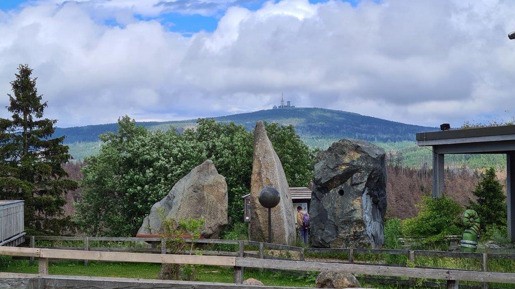 Torfhaus, Blick auf den Brocken