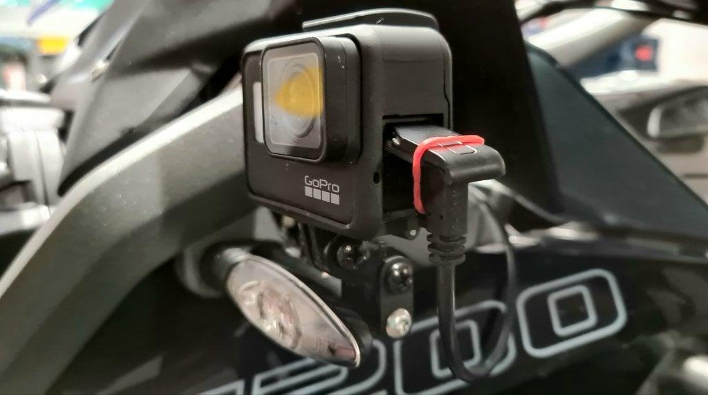 Gopro 7 Frame mit Stromversorgung