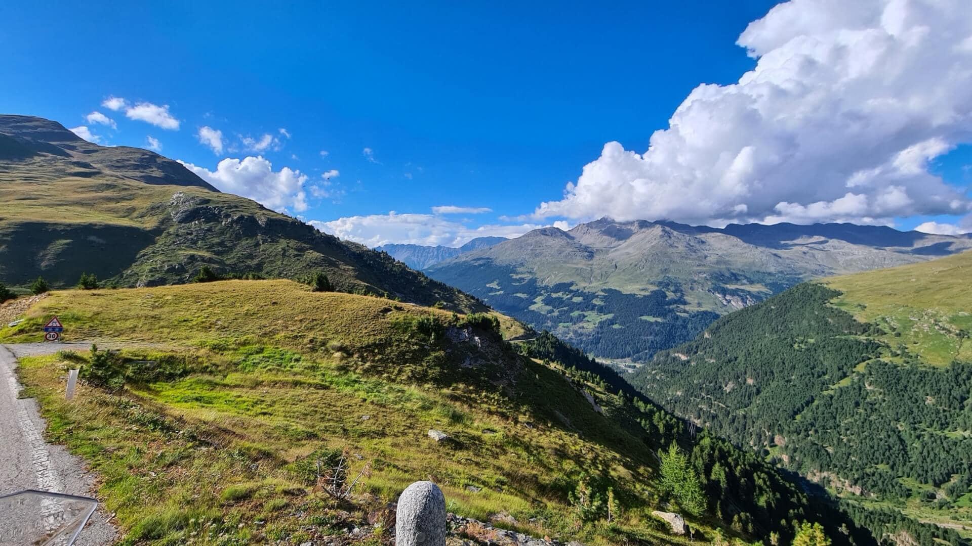 Abfahrt Passo Gavia, 2652 m