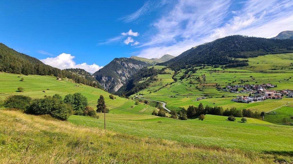 Blick auf Nauders Österreich