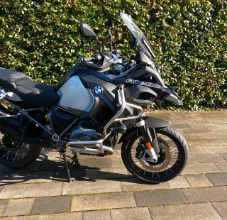 BMW R1250GS Adventure Trible Black Seitenansicht