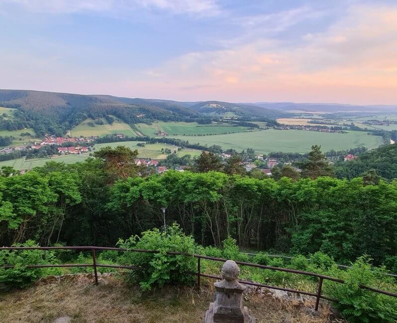 Aussicht vom Kienberghaus Jagdhof