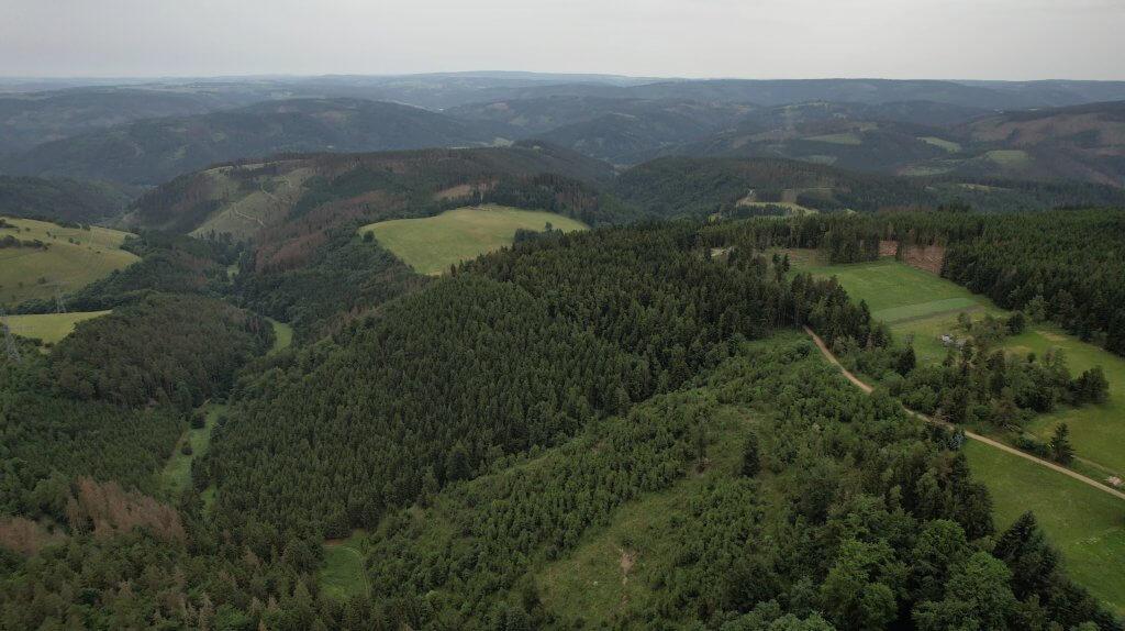 Luftbild Thüringen
