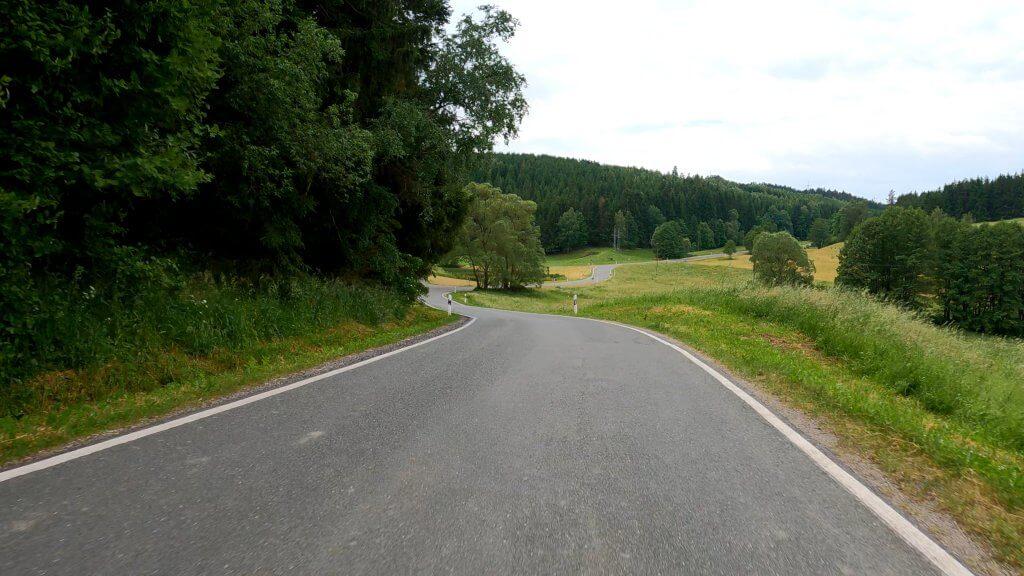 Straße Thüringen